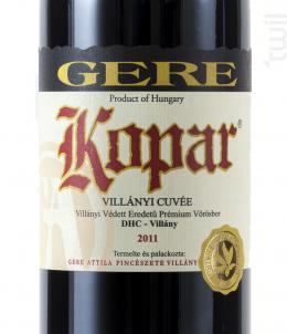 Kopar - Gere Attila - 2015 - Rouge