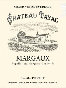 Château Tayac - Château Tayac - 2016 - Rouge