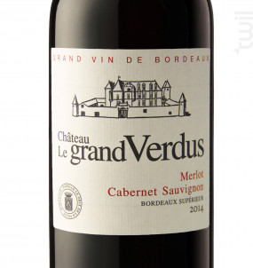 Château Le Grand Verdus - Château le Grand Verdus - 2016 - Rouge