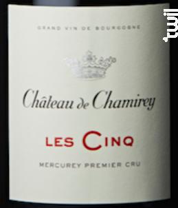 Mercurey 1er Cru Les Cinq - Château de Chamirey - 2012 - Rouge