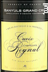 Cuvée Christian Reynal - Cave Abbé Rous - 2000 - Rouge