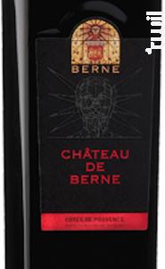 Château de Berne - Château de Berne - 2014 - Rouge
