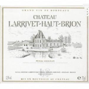 Château Larrivet Haut-Brion - Château Larrivet Haut-Brion - 2016 - Blanc