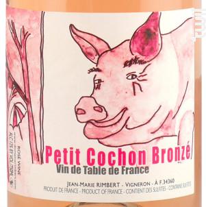 Petit Cochon Bronzé - Domaine Rimbert - Non millésimé - Rosé