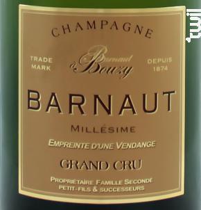 Millésime 2006 Grand Cru - Brut