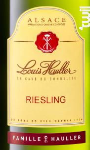 Riesling - Louis Hauller - Non millésimé - Blanc