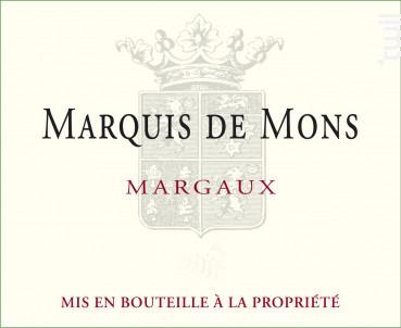 Marquis De Mons - Château La Tour de Mons - 2016 - Rouge