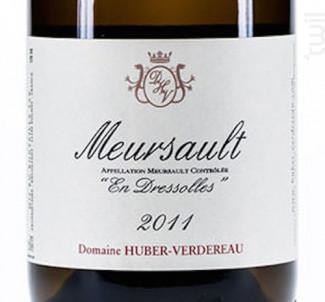 Meursault En Dressolles - Domaine Huber-Verdereau - 2011 - Blanc