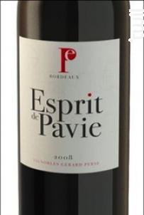 Esprit de Pavie - Château Pavie - 2008 - Rouge