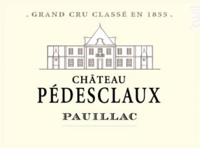 Château Pédesclaux - Château Pédesclaux - 2014 - Rouge