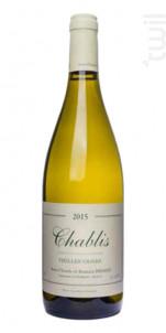 Chablis Vieilles Vignes - Jean Claude Bessin - 2018 - Blanc
