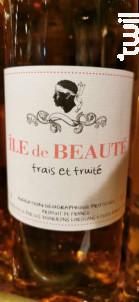Île de beauté frais et fruité - UVAL des Vignerons Corsicans - 2018 - Rosé