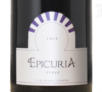Epicuria Syrah - Zouina - 2014 - Rouge