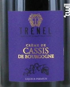 Crème de Cassis - Trenel - Non millésimé - Rouge