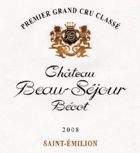 Château Beau-Séjour Bécot - Château Beau-Séjour Bécot - 2008 - Rouge