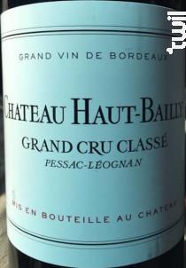 Château Haut-Bailly - Château Haut-Bailly - 2012 - Rouge