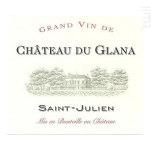 Château du Glana - Château du Glana - 2014 - Rouge