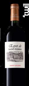 Esprit De Saint Pierre - Château Saint Pierre - 2013 - Rouge