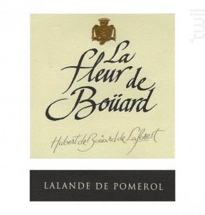 La Fleur de Bouard - Château La Fleur de Boüard - 2004 - Rouge