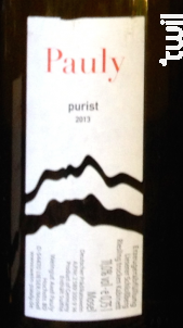 Purist - riesling - AXEL PAULY - 2017 - Blanc