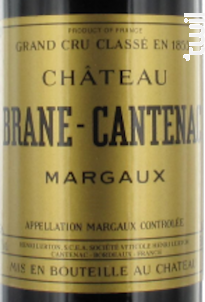 Château Brane Cantenac - Château Brane Cantenac - 2013 - Rouge