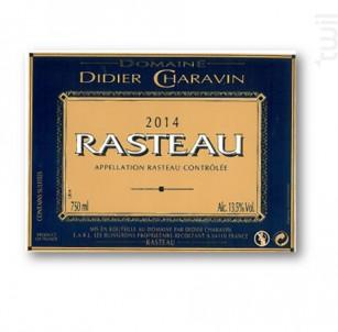 Rasteau - Domaine Didier Charavin - 2019 - Rouge