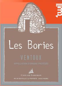 Les Bories - Cave du Luberon - 2018 - Rosé