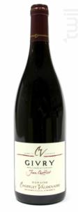 Givry Cuvée Jean Chofflet - Domaine Chofflet-Valdenaire - 2017 - Rouge