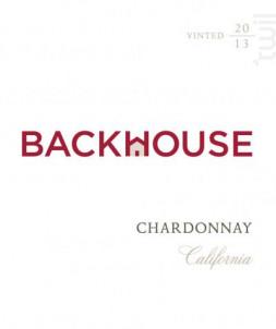 Backhouse Chardonnay - Backhouse - 2017 - Blanc
