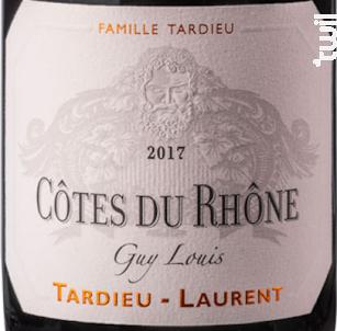 Guy Louis - Maison Tardieu Laurent - 2017 - Rouge