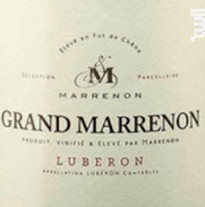 Grand Marrenon - Marrenon - 2020 - Blanc