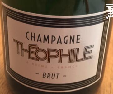 Champagne Théophile - Brut - Champagne Théophile - Non millésimé - Effervescent