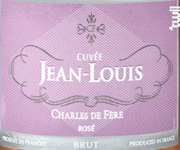 Cuvée Jean-Louis - Charles De Fère - Non millésimé - Rosé
