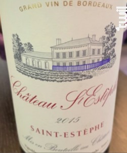 Château Saint Estèphe - Château Saint Estèphe - 2015 - Rouge