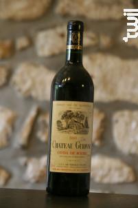 Château Guionne - Chateau Guionne - 1996 - Rouge