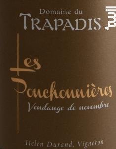 Les Ponchonnières - Domaine du Trapadis - 2014 - Blanc