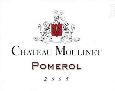 Château Moulinet - Château Moulinet - 2007 - Rouge