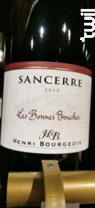 Les Bonnes Bouches - Henri Bourgeois - 2012 - Rouge