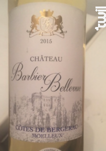 Château Barbier Bellevue - Château Barbier Bellevue - 2015 - Rouge