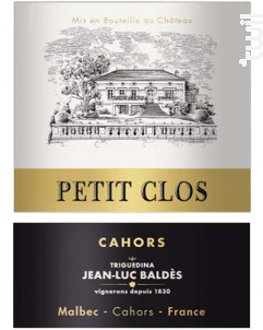 Petit Clos - Clos Triguedina - 2014 - Rouge