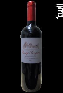 La RAISON - Rouge Fougères - Château des Fougères Clos Montesquieu - 2012 - Rouge