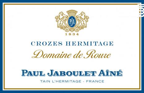 Crozes Hermitages - Domaine Raymond Roure - Paul Jaboulet Aîné - 2014 - Rouge