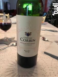 Château Corbin - Château Corbin - 2015 - Rouge