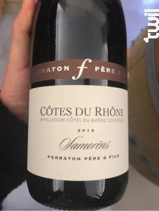 Samorëns - Ferraton Père & Fils - 2015 - Rouge