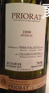PRIORAT - Primo Palatum - 1999 - Rouge