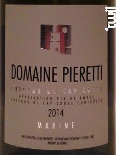 Marine - Domaine Pieretti - 2017 - Blanc