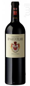 Château d'Aiguilhe - Vignobles Comtes Von Neipperg - 2011 - Rouge