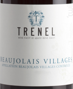 Beaujolais Villages - Trenel - 2016 - Rouge