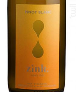 Pinot Blanc - Domaine ZINK - 2017 - Blanc