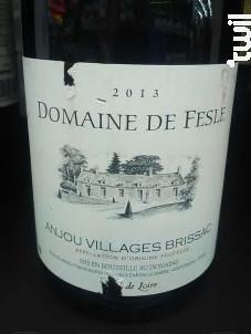 Anjou Villages - Château de Fesles - 2016 - Rouge